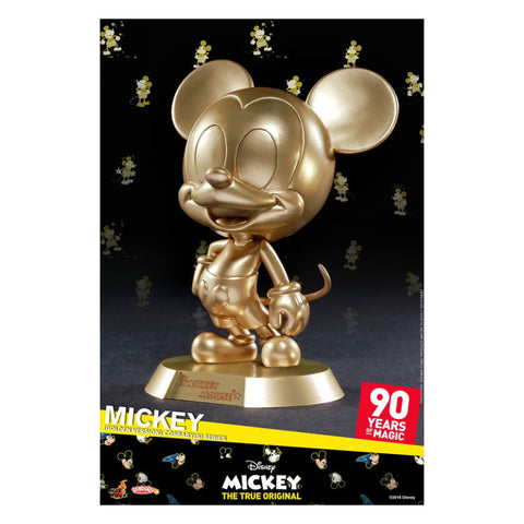 Mickey Mouse - 90th Mickey (Golden) Cosbaby