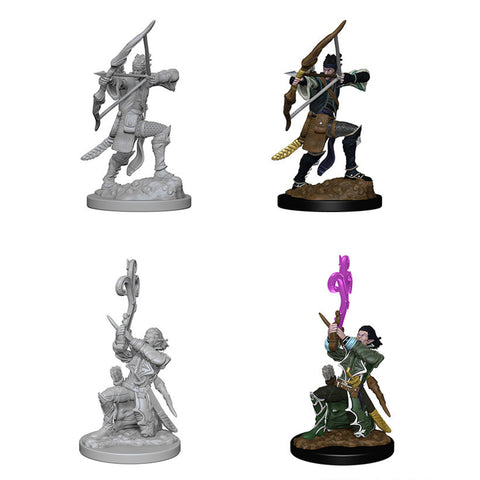 Image of Dungeons And Dragons Unpainted Minis Elf Male Bard