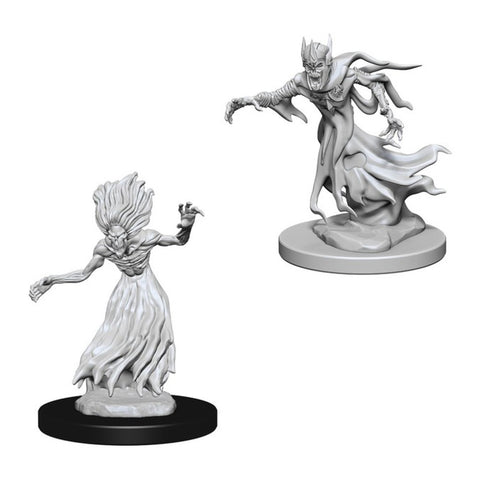 Image of Dungeons And Dragons Unpainted Minis Wraith And Specter