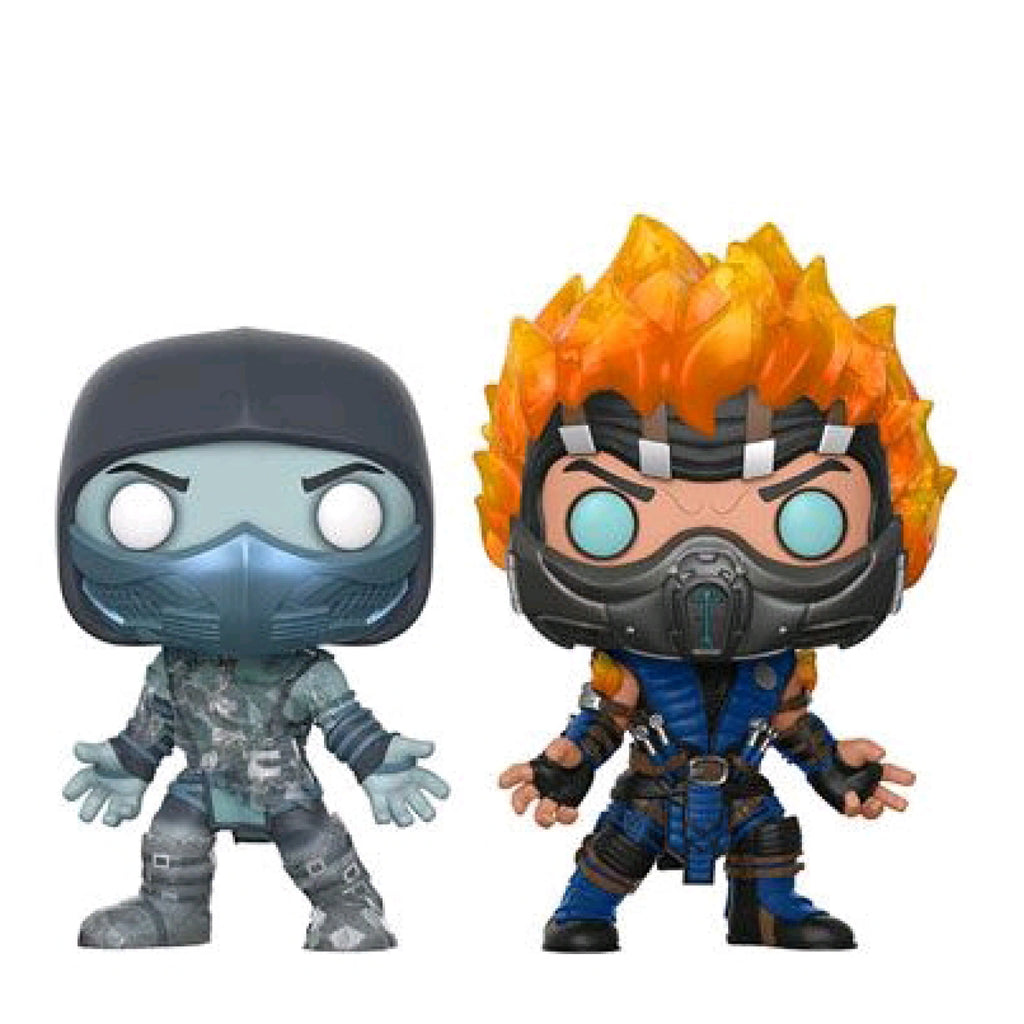 Mortal Kombat - Scorpion And Subzero Pop Vinyl