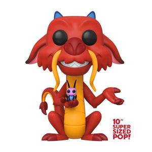 "Mulan - Mushu US Exclusive 10"" Pop! Vinyl"