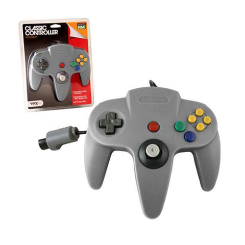 Image of N64 Controller Replica Grey