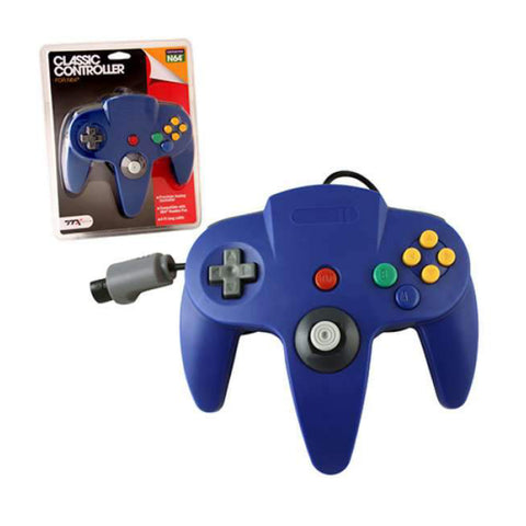 Image of N64 Controller Replica Blue
