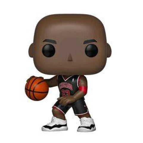 Image of NBA: Bulls - Michael Jordan (Black Uniform) US Exclusive Pop! Vinyl [RS]