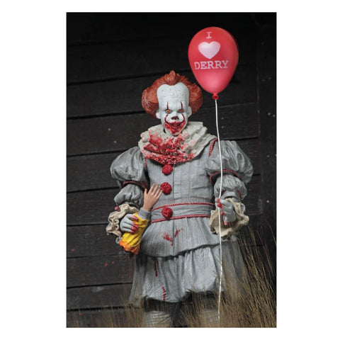 "It (2017) - Pennywise ""I Heart Derry"" 7"" Figure"