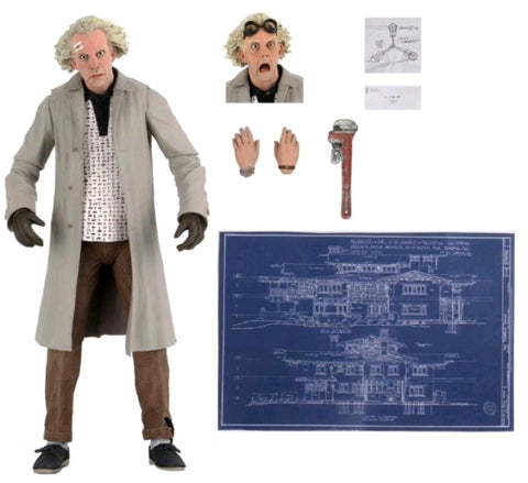 "Back to the Future - Doc Brown Ultimate 7"" Action Figure"
