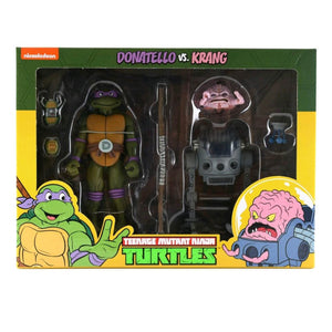 Teenage Mutant Ninja Turtles - Donatello vs Krang Action Figure 2-pack