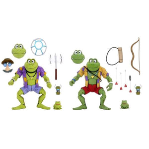 "Teenage Mutant Ninja Turtles - Genghis & Rasputin Frog 7"" Action Figure 2-pack"