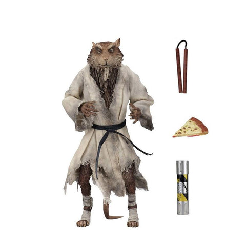 "Image of Teenage Mutant Ninja Turtles (1990) - Splinter 7"" Action Figure"