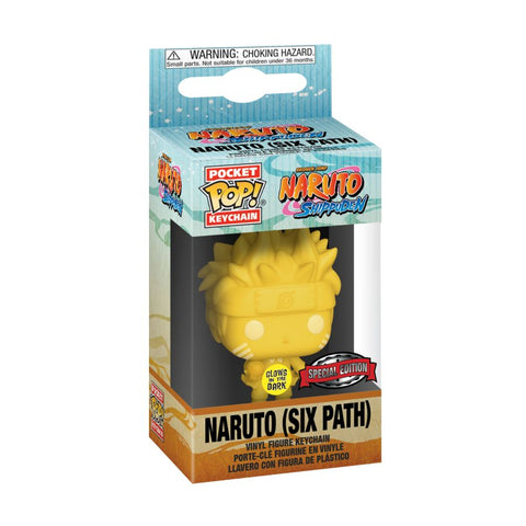 Naruto - Sixpath Glow US Exclusive Pocket Pop! Keychain [RS]