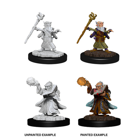 Image of Dungeons & Dragons - Nolzur's Marvelous Unpainted Minis: Gnome Male Wizard