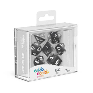 Oakie Doakie Dice RPG Solid Black