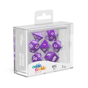 Oakie Doakie Dice RPG Solid Purple