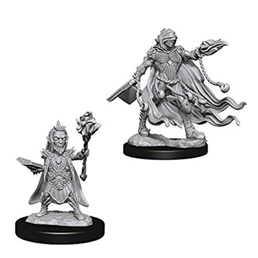 Pathfinder Deep Cuts Unpainted Minis Evil Wizards