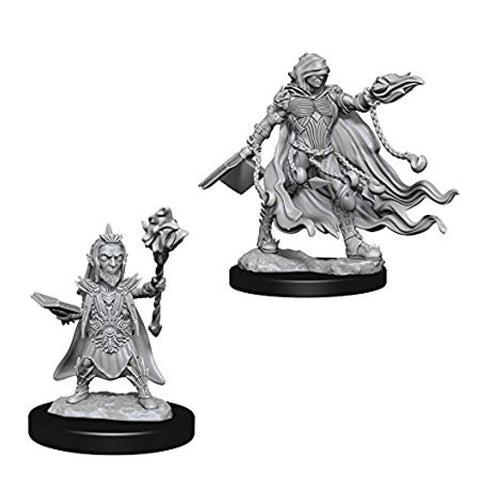 Image of Pathfinder Deep Cuts Unpainted Minis Evil Wizards