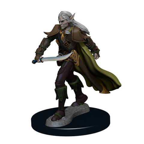 Image of Pathfinder Unpainted Minis Elf Male Fighter #1
