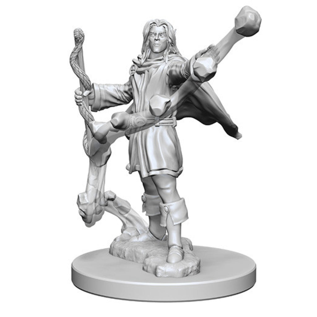 Pathfinder Unpainted Minis Elf Male Sorcerer