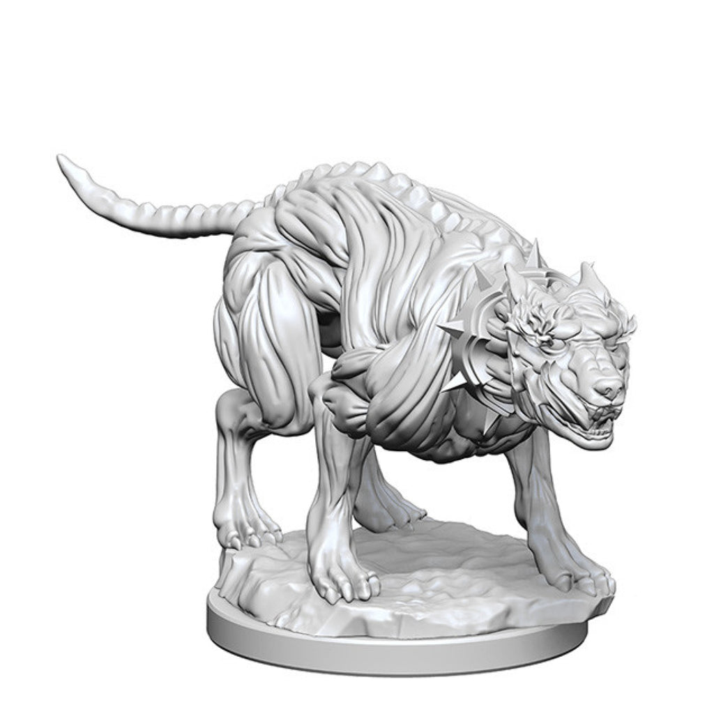 Pathfinder Unpainted Minis Hell Hounds