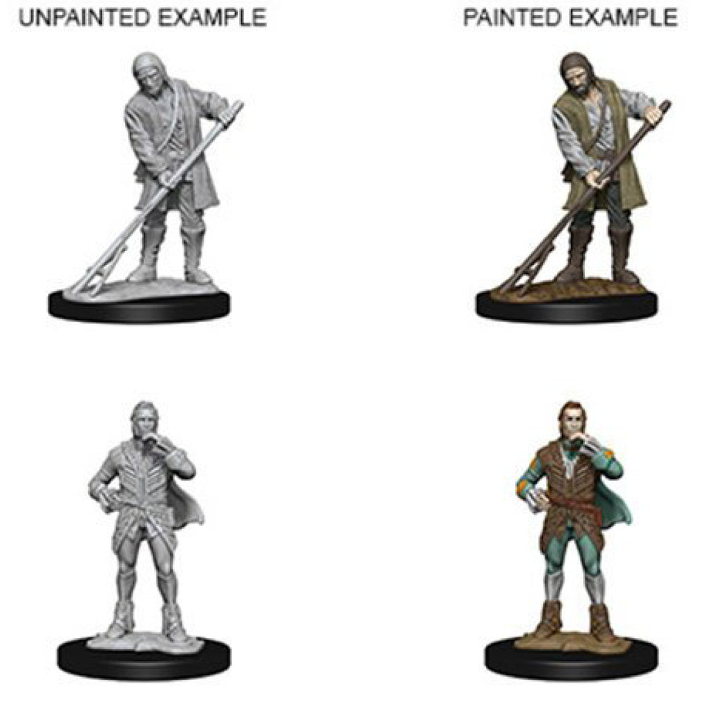 Pathfinder Unpainted Minis Towns People