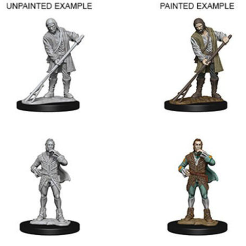 Image of Pathfinder Unpainted Minis Towns People