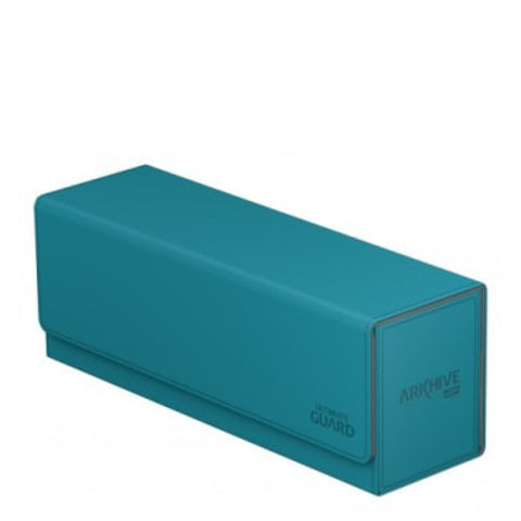Image of Ultimate Guard Arkhive Flip Case 400+ Standard Size XenoSkin Petrol Blue