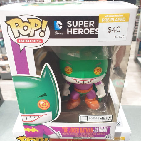The Joker Batman-Batman Loot Crate Exclusive Pop Vinyl