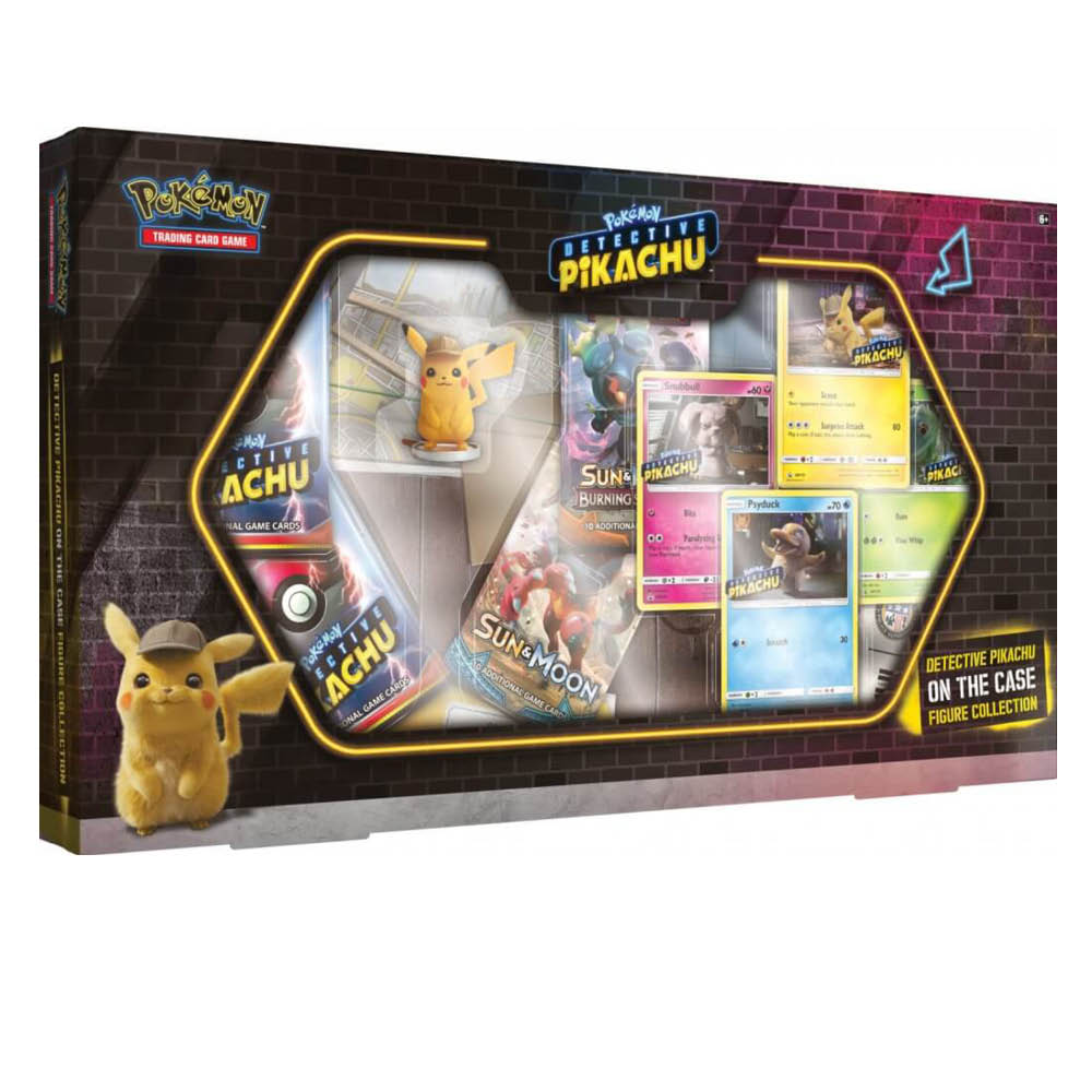 POKÉMON TCG Detective Pikachu On The Case Figure Collection