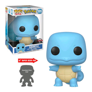 "Pokemon - Squirtle 10"" US Exclusive Pop! Vinyl [RS]"