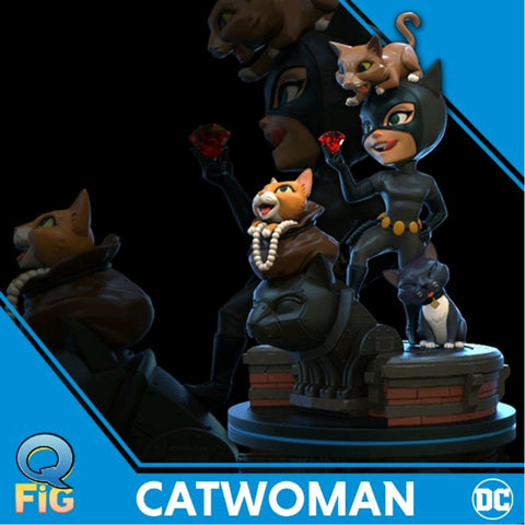 Batman: The Animated Series - Catwoman Q-Fig Elite