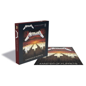 Metallica - Master Of Puppets 500pc Puzzle