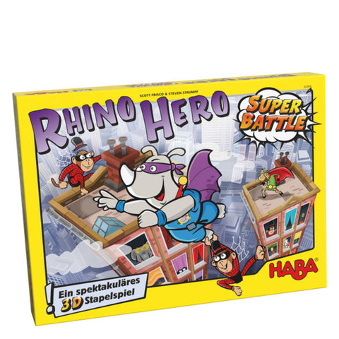 Image of Rhino Hero Super Battle