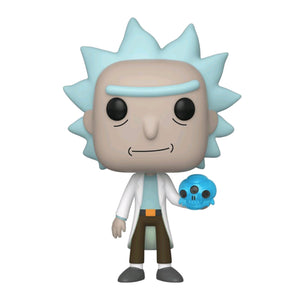Rick & Morty - Rick with Crystal Skull Pop! Vinyl