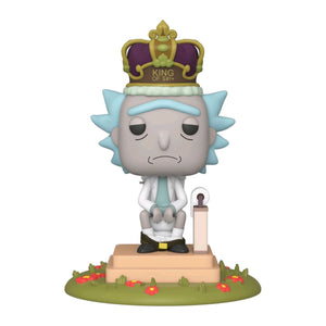 Rick and Morty - King of $#!+ with Sound Pop! Deluxe