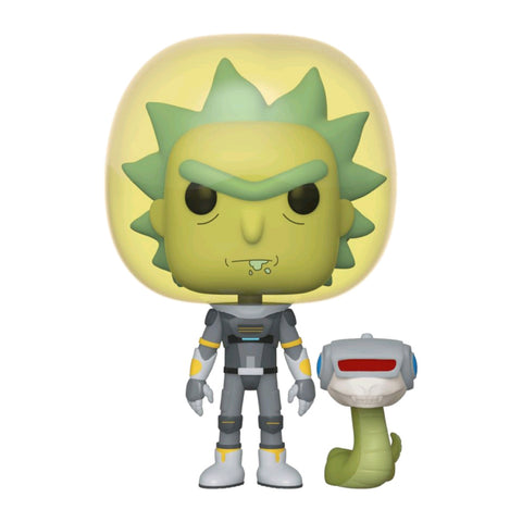 Rick and Morty - Rick Space Suit with Snake Pop! Vinyl