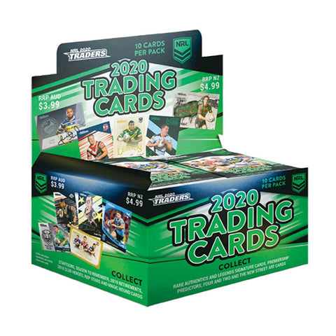 Rugby League - 2020 Traders Cards Display