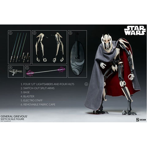 Star Wars - General Grievous 1:6 Scale Figure