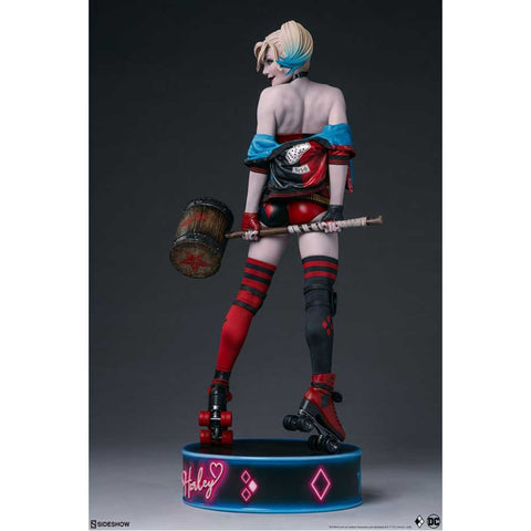Batman - Harley Quinn Hell on Wheels Premium Format Statue