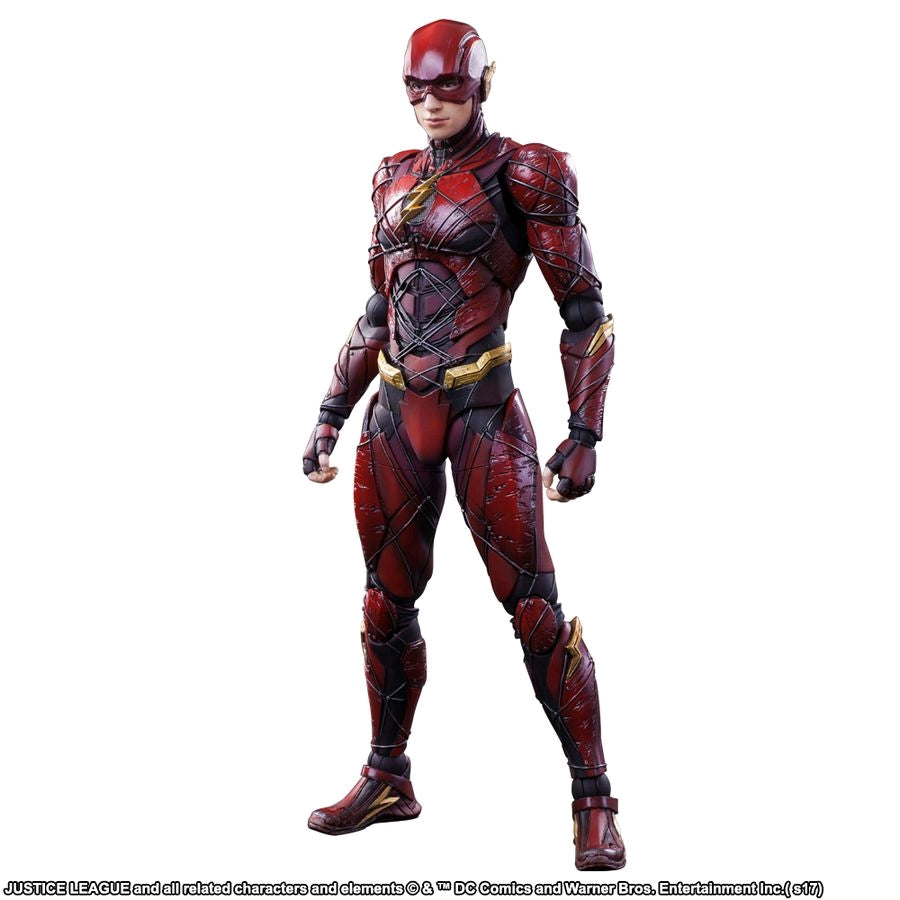 Justice League Movie - Flash Play Arts Action Figure