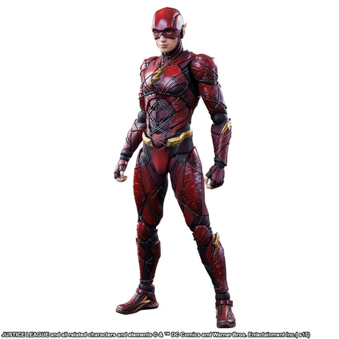 Image of Justice League Movie - Flash Play Arts Action Figure