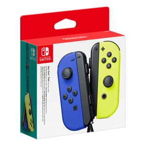 Switch Joy-Con Pair Controller - Neon Blue/Yellow