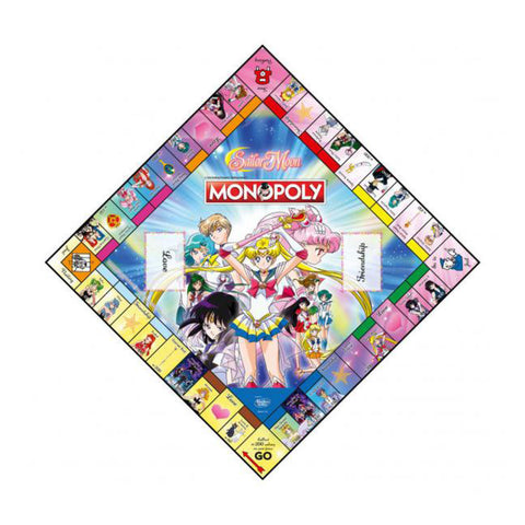 Image of Sailor Moon Monopoly