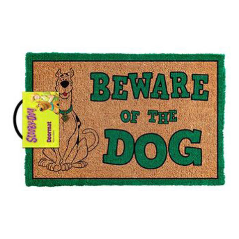 Scooby Doo- Beware Of The Dog Doormat