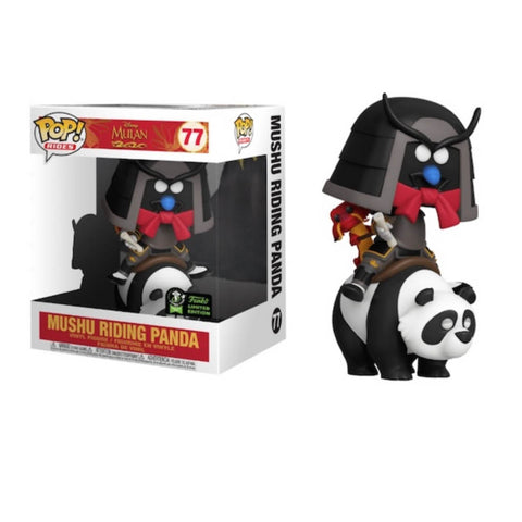 ECCC20 Mulan - Mushu on Panda Pop Vinyl Ride