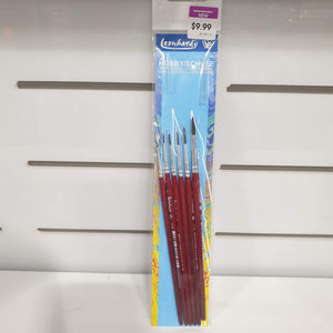 6 Brush Hobby Set