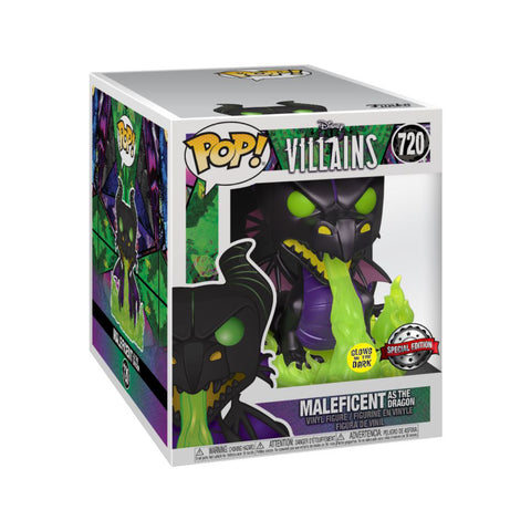 "Sleeping Beauty - Maleficent as Dragon with Flames Metallic Glow US Exclusive 6"" Pop! Vinyl [RS]"
