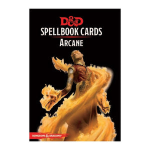 D&D Spellbook Cards Arcane Deck Revised
