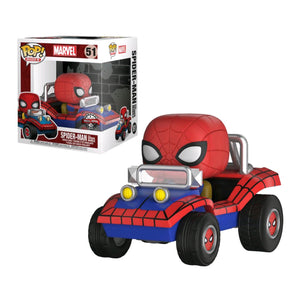 Spider-Man - Spider-Man with Spider Mobile Pop! Ride