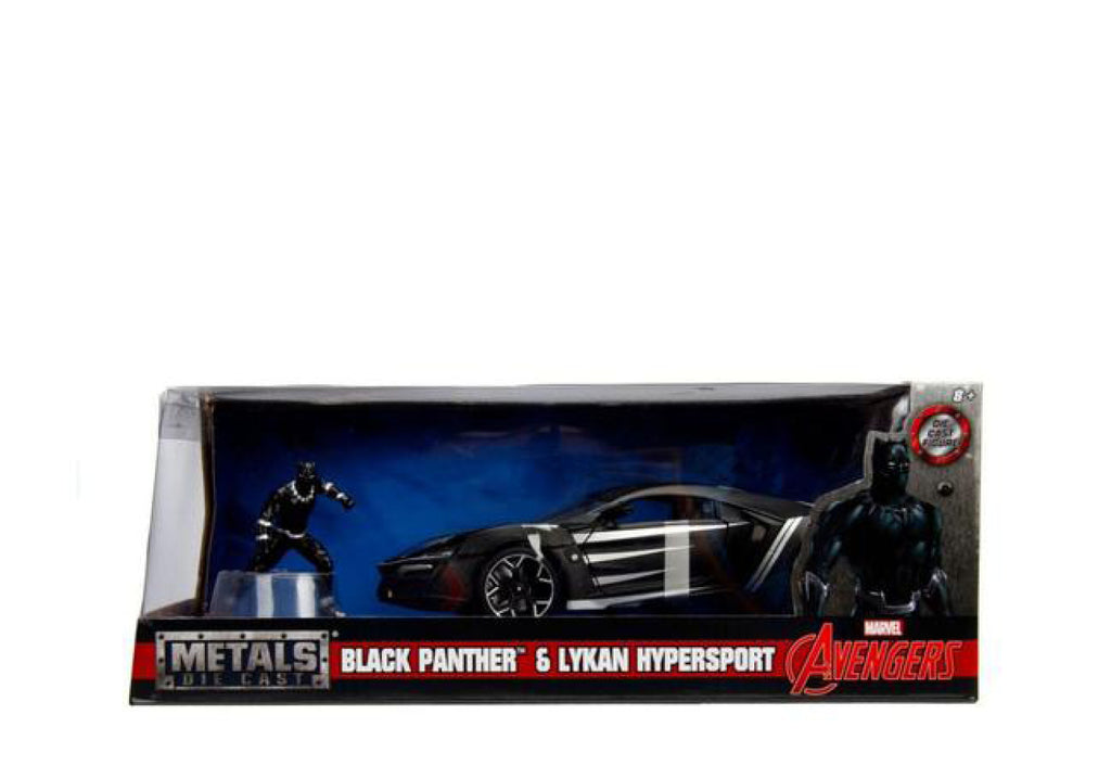 1:24 Black Panther w/Lykan HYper Sport Movie Hollywood Rides