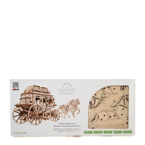 Image of Ugears Stagecoach