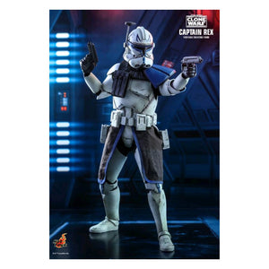 "Star Wars: The Clone Wars - Captain Rex 1:6 Scale 12"" Action Figure"